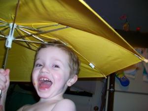 Finn at age 3